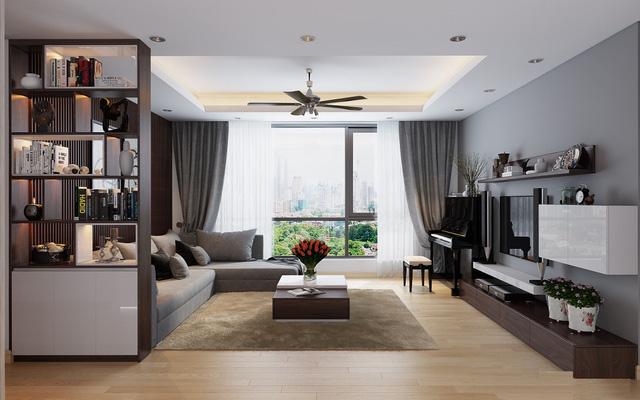 4 phong cách thiết kế nội thất căn hộ sang trọng
