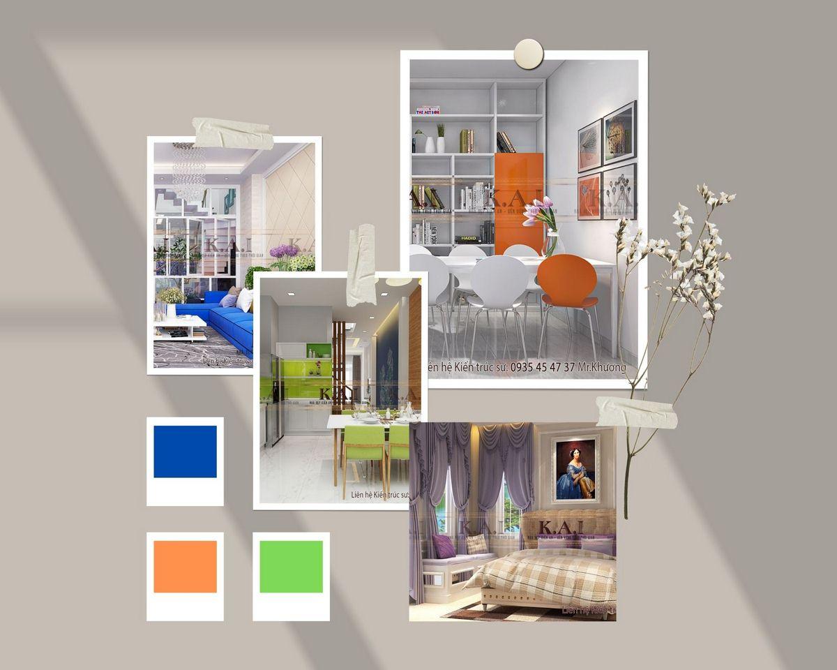 Màu sắc trong thiết kế nội thất nói với bạn điều gì?