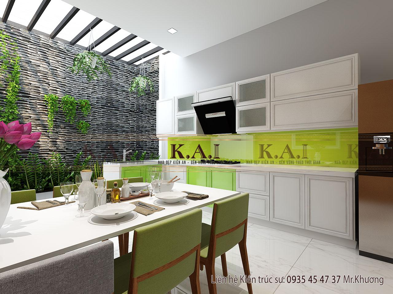 Có nên chưng cây cảnh trong nhà bếp?