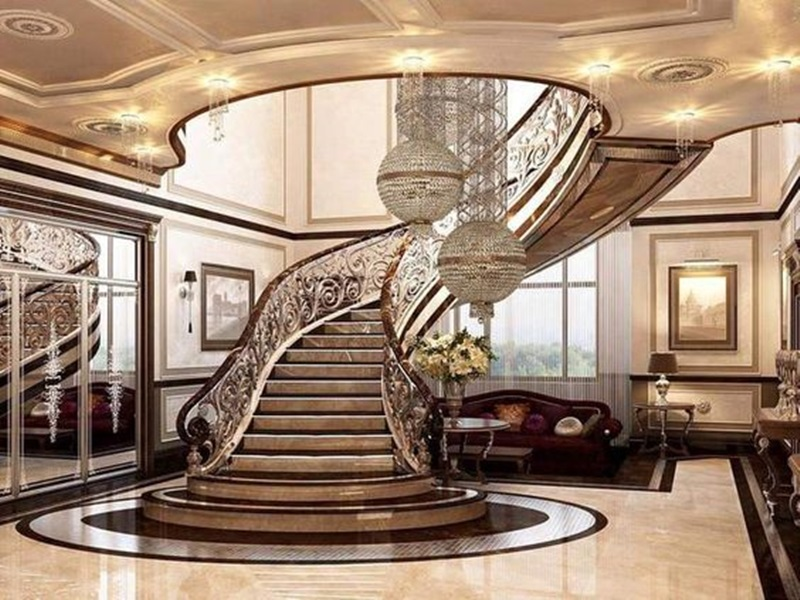 Cầu thang tân cổ điển