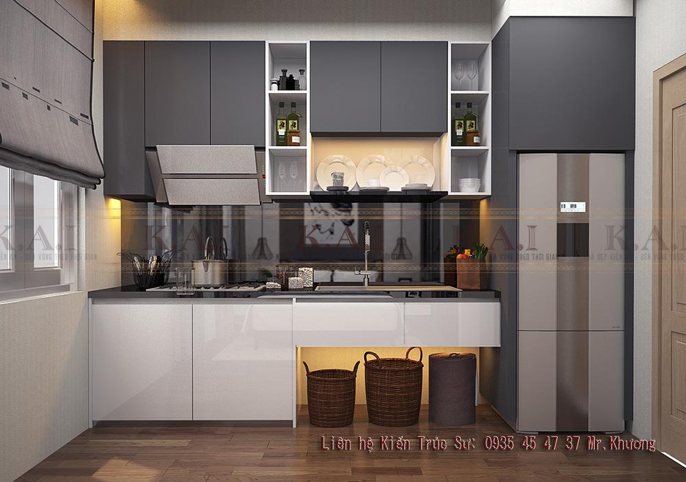 thiết kế căn hộ nhỏ 20m2