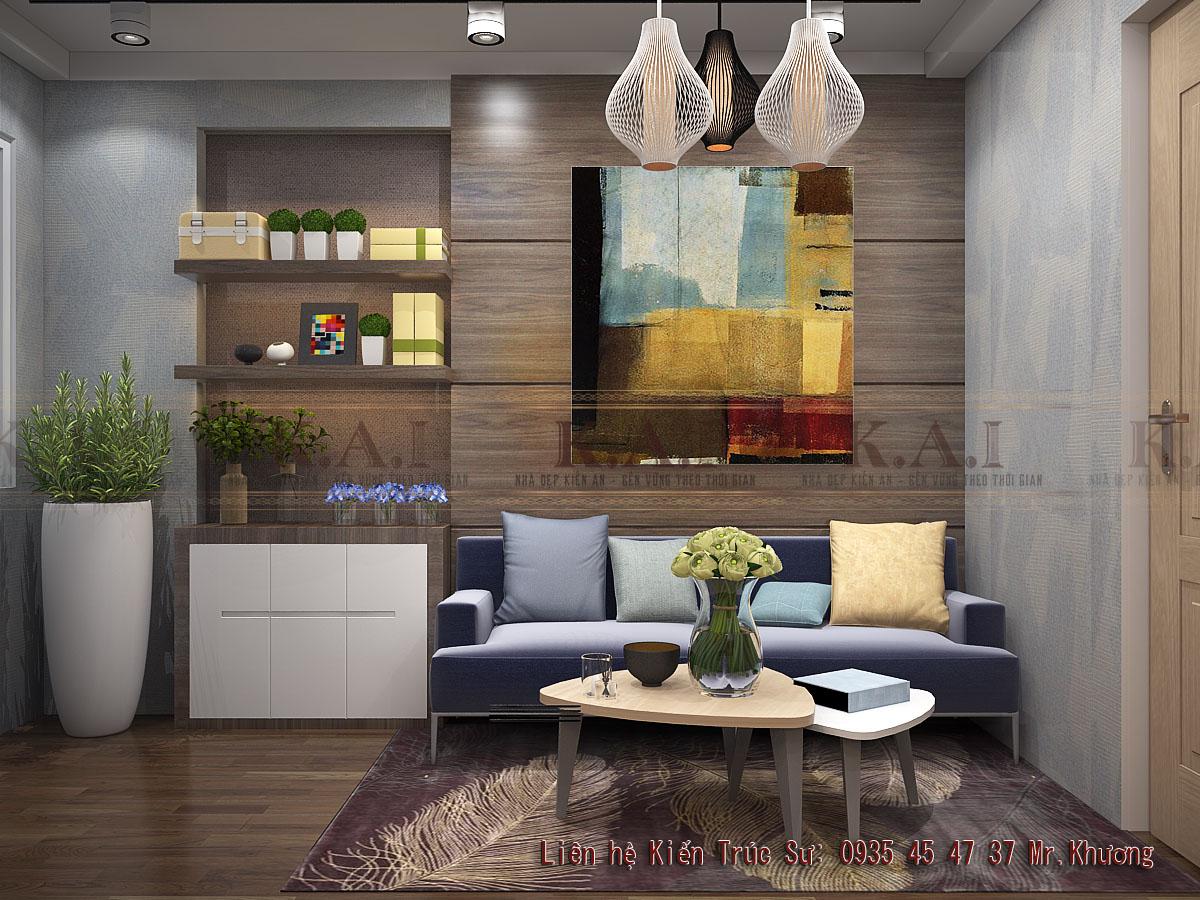 thiết kế nội thất chung cư mini