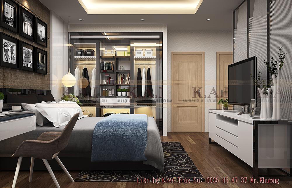 thiết kế nội thất căn hộ nhỏ 35m2