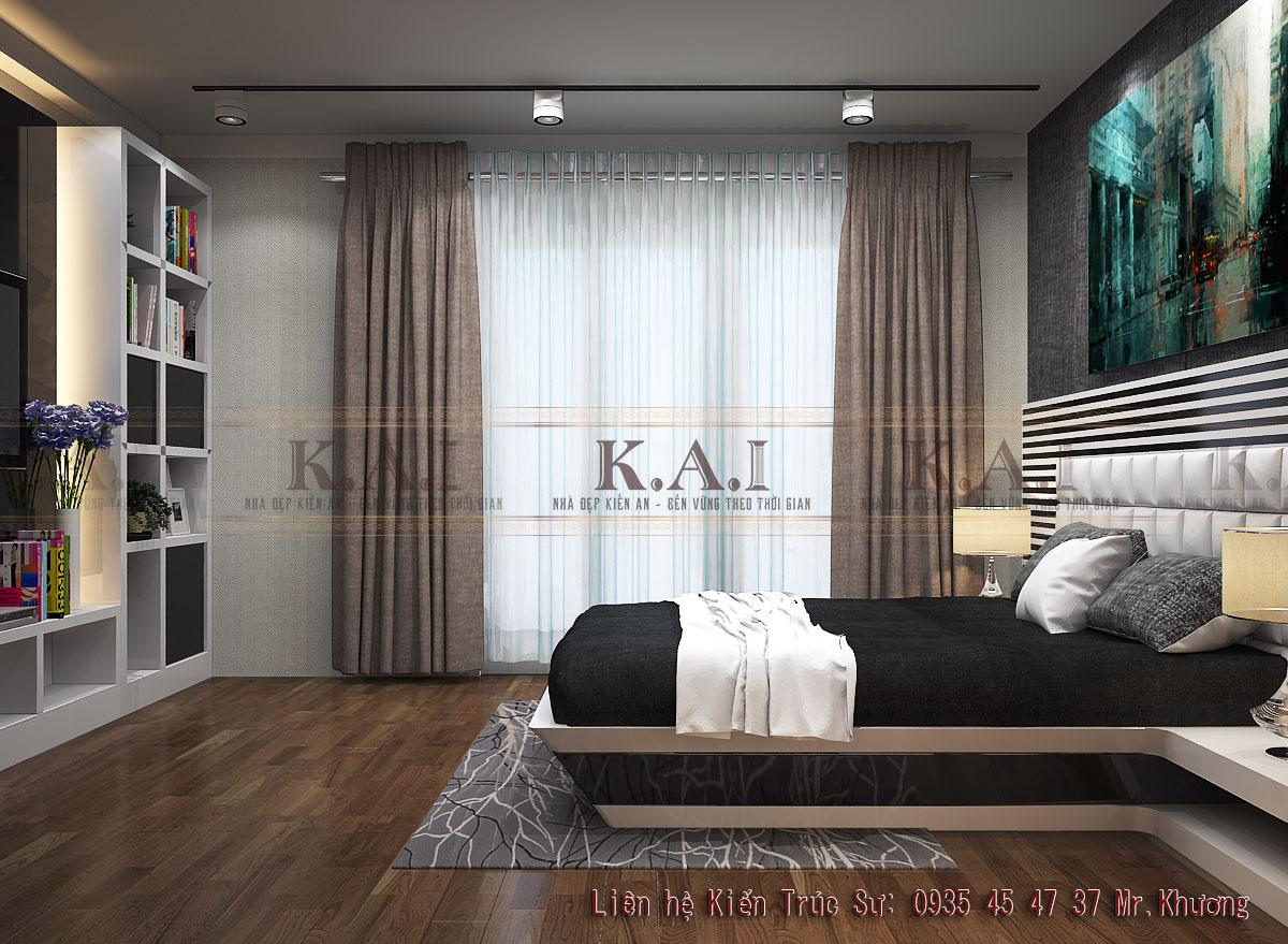 thiết kế căn hộ chung cư 35m2