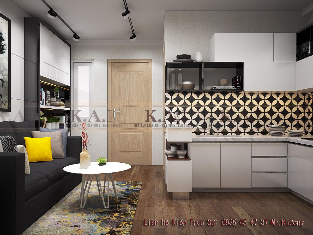 6 mẫu thiết kế nội thất chung cư mini – anh Thụy, quận 1