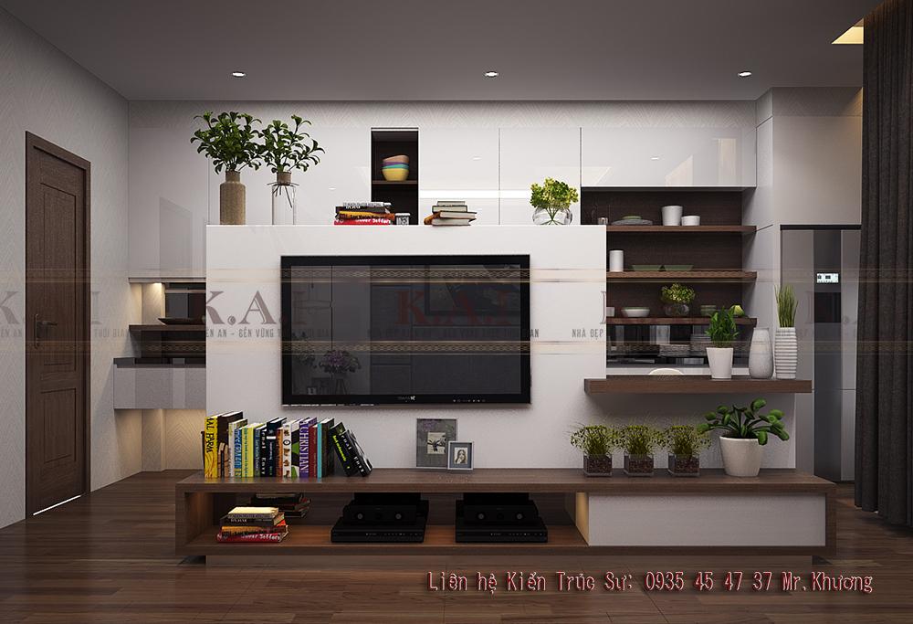 Mẫu thiết kế căn hộ nhỏ 35m2