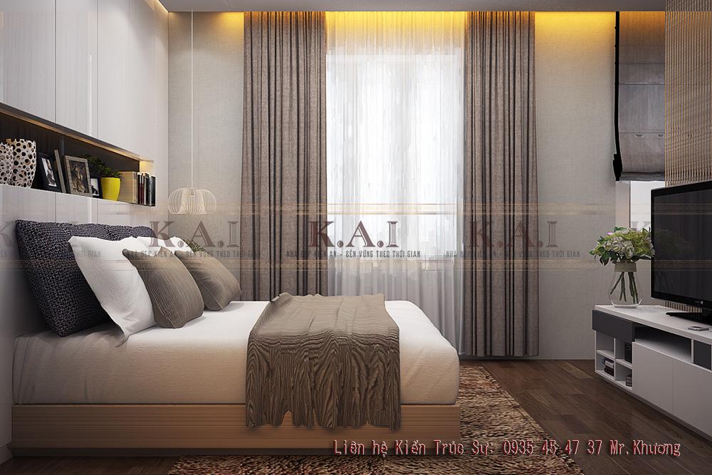 thiết kế nội thất căn hộ nhỏ 20m2