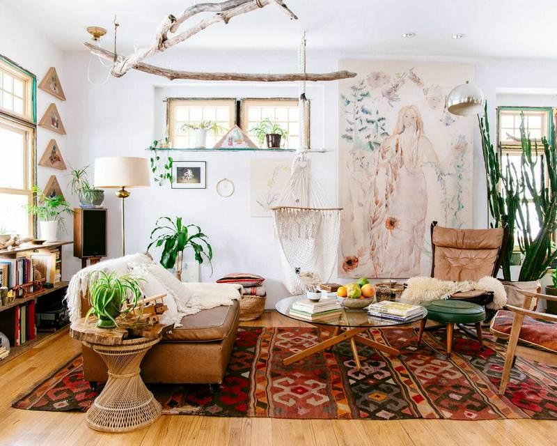 Nhấn điểm của phong cách bohemian trong nội thất