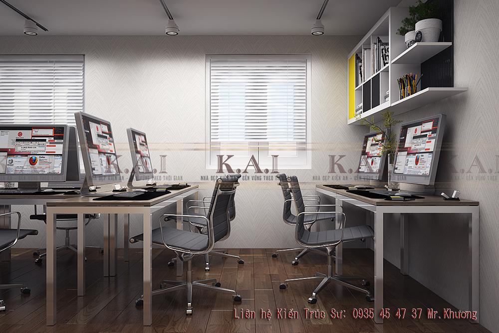 Thiết kế phòng làm việc nhỏ