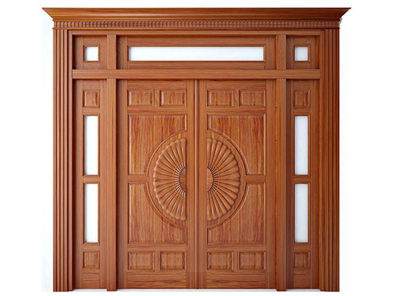 Tổng hợp các mẫu cửa gỗ đẹp và sang trọng cho nhà biệt thự