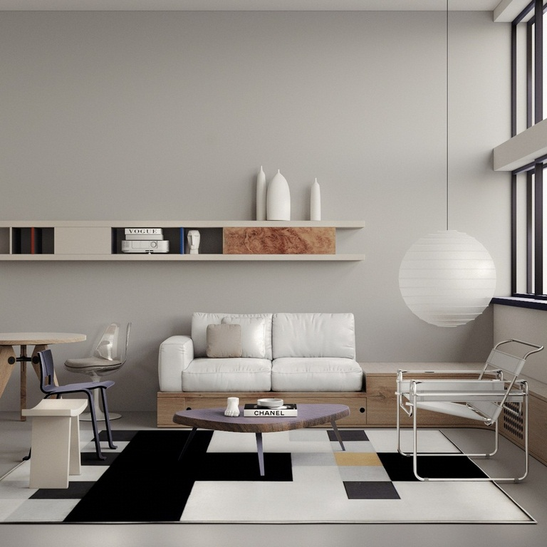 Phong cách Bauhaus – trường phái của sự đơn giản mà tinh tế