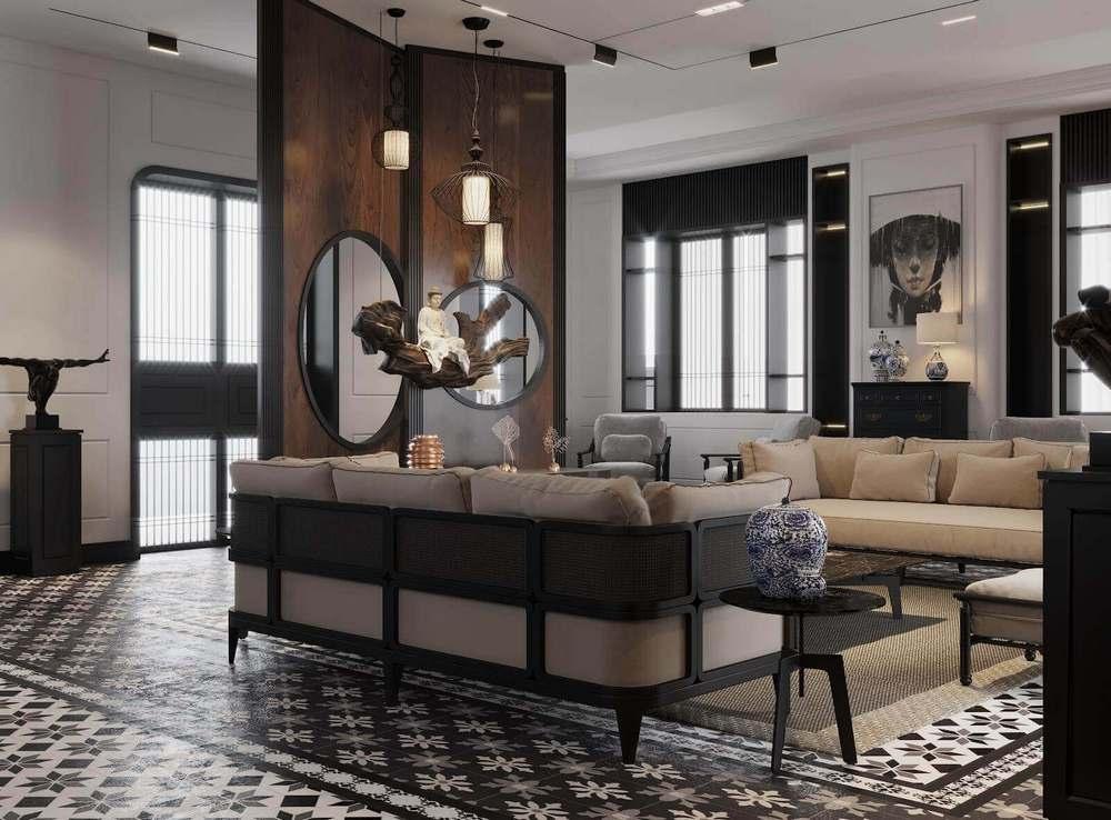 phong cách đông dương trong thiết kế nội thất