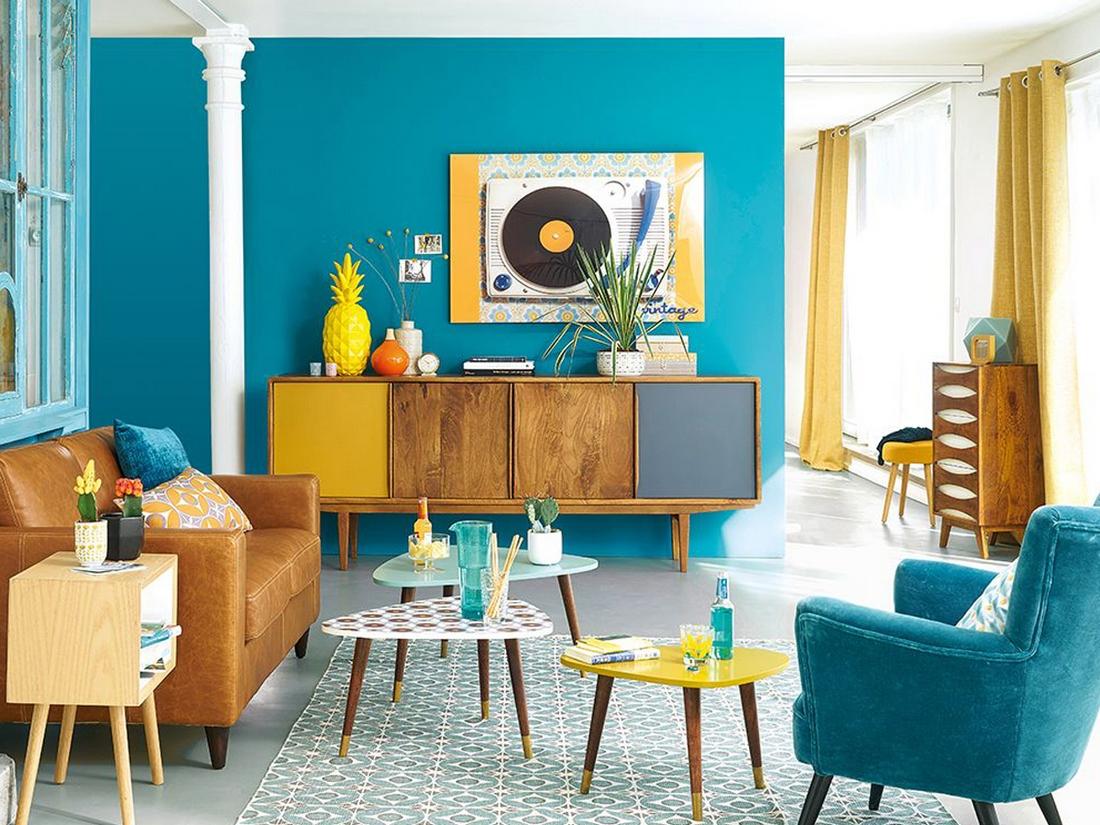Phong cách nội thất Retro khơi gợi niềm vui và sự năng động