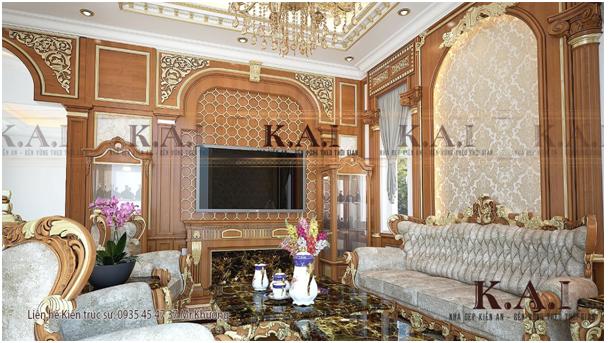 Bộ sưu tập thiết kế nội thất cổ điển quyền quý và xa hoa