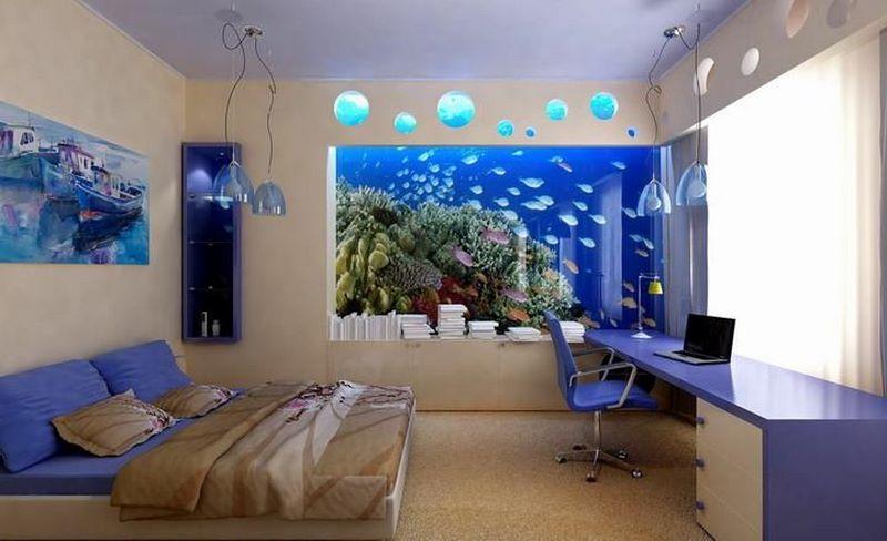 Có nên để bể cá trong phòng ngủ? Cách đặt bể cá phù hợp