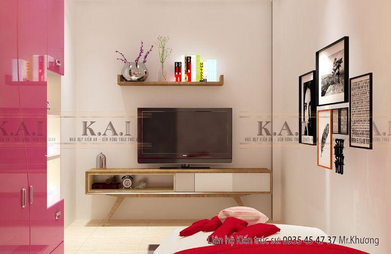 Tổng hợp những mẫu kệ tivi phòng ngủ đẹp và độc đáo
