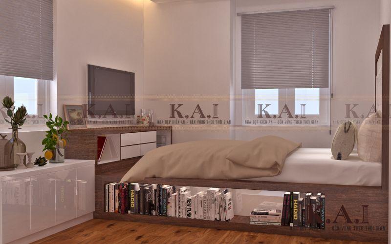 Ý tưởng thiết kế phòng ngủ nhỏ 10m2 đẹp và tiện nghi