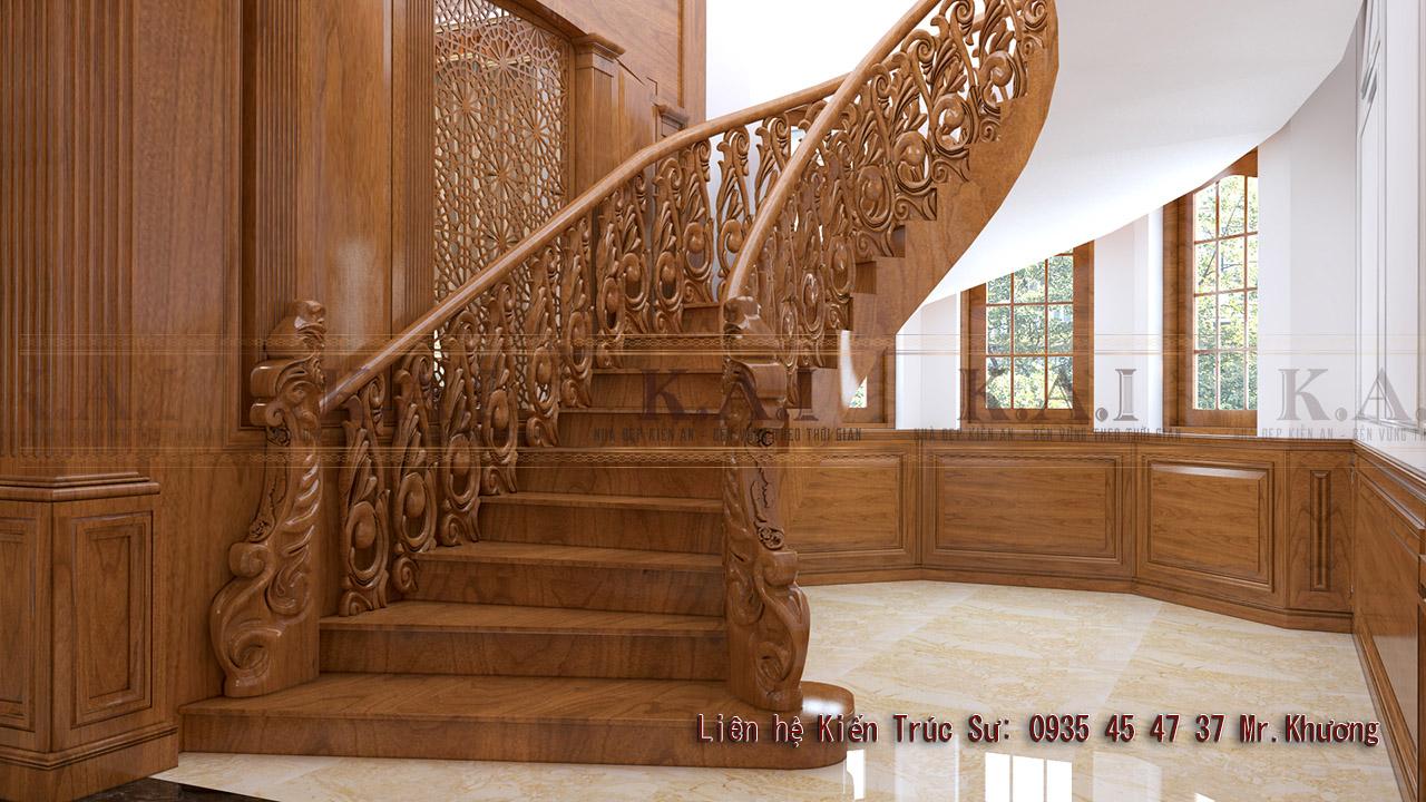 Tổng hợp những mẫu cầu thang gỗ đẹp cho ngôi nhà của bạn