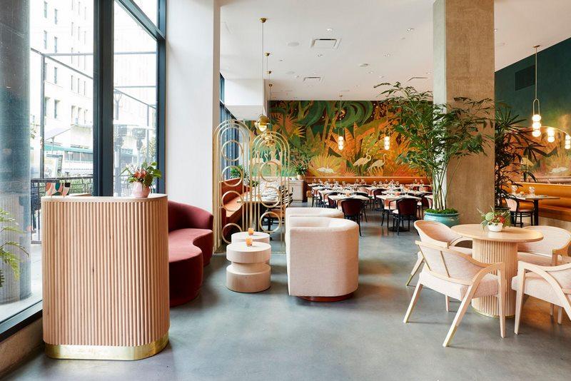 Mẫu thiết kế nội thất nhà hàng