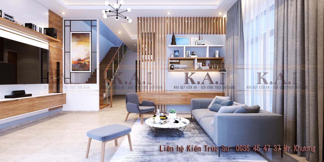 Các mẫu thiết kế phòng khách đơn giản phù hợp với mọi nhà