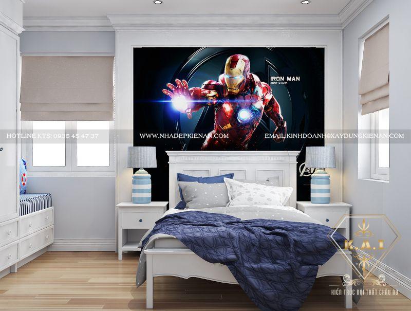 Top 20+ mẫu thiết kế phòng ngủ cho bé trai được yêu thích