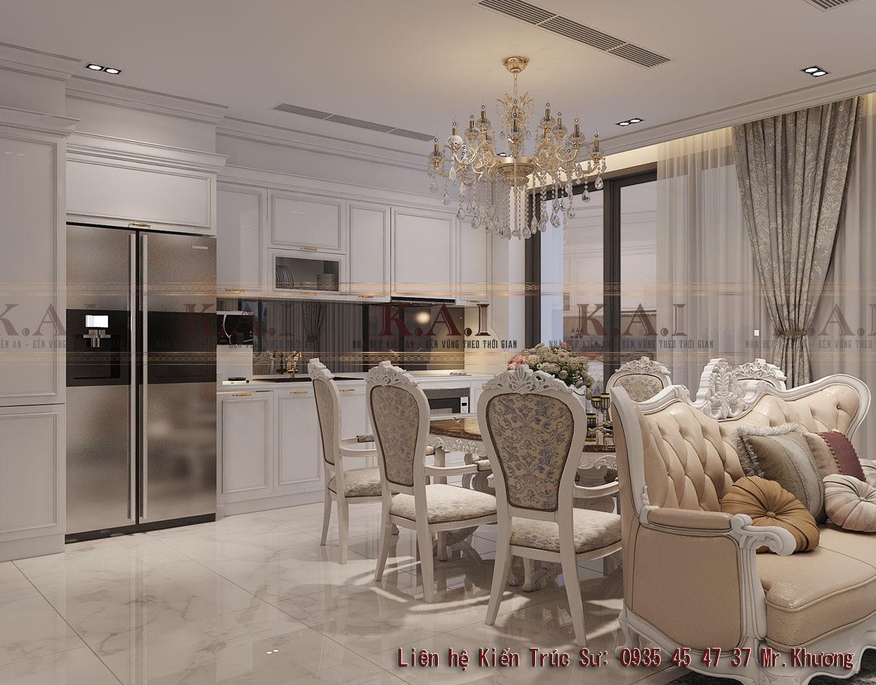 Tổng hợp mẫu thiết kế bếp chung cư đẹp và hiện đại nhất