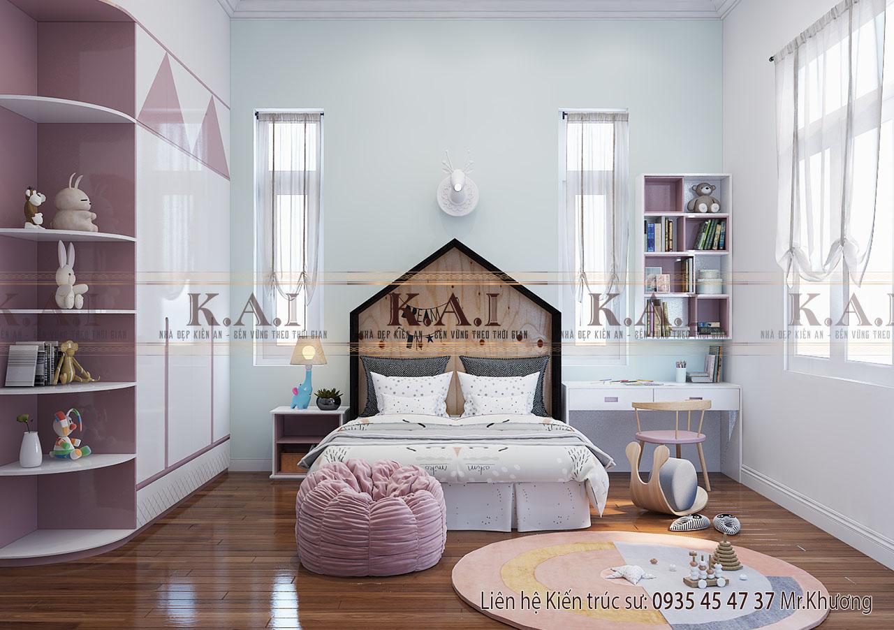 Gợi ý những mẫu thiết kế phòng ngủ trẻ em tuyệt đẹp
