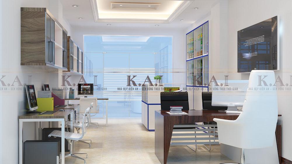 Thiết kế nội thất văn phòng kết hợp nhà ở – Anh Tùng