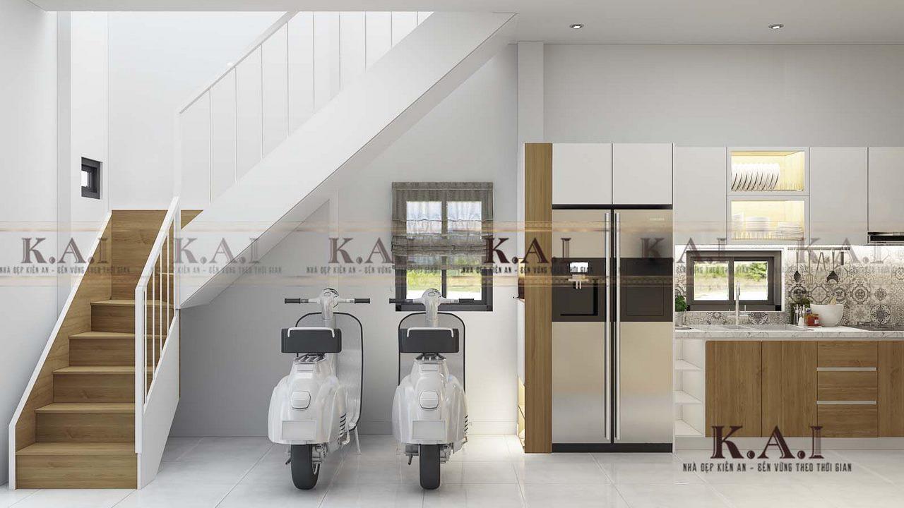 Thiết kế nội thất nhà hẹp 3m