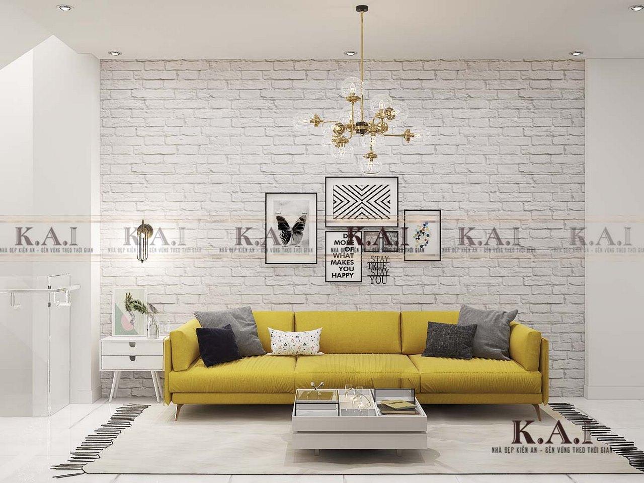 Thiết kế nội thất nhà hẹp 28m2 hiện đại – Chị Nhi, TP.HCM