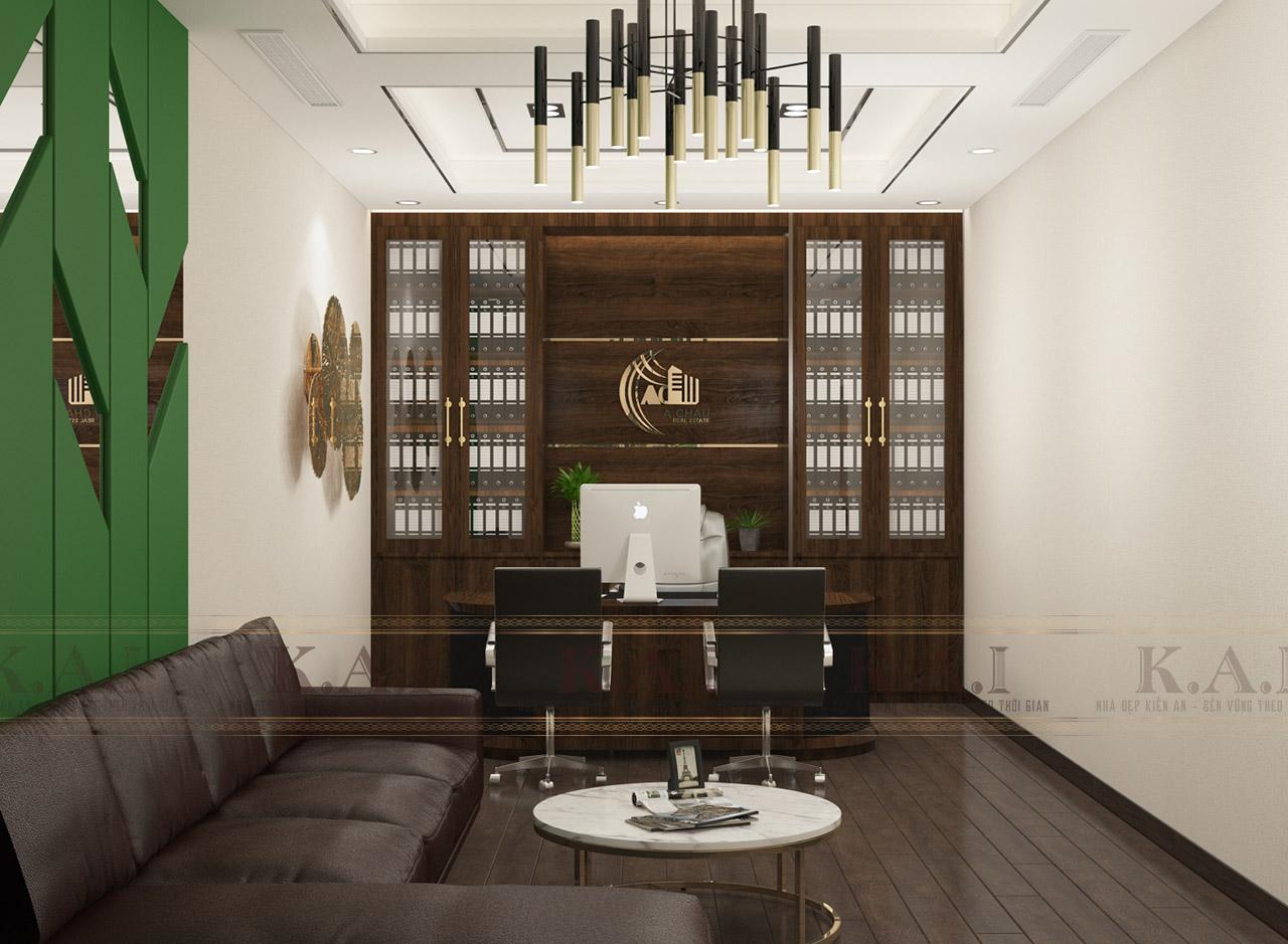 Thiết kế công ty bất động sản đẹp và đẳng cấp – Anh Tạo, Bình Dương